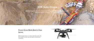 カスタマイズ可能!産業用に最適な3DRのSOLO(ソロ)