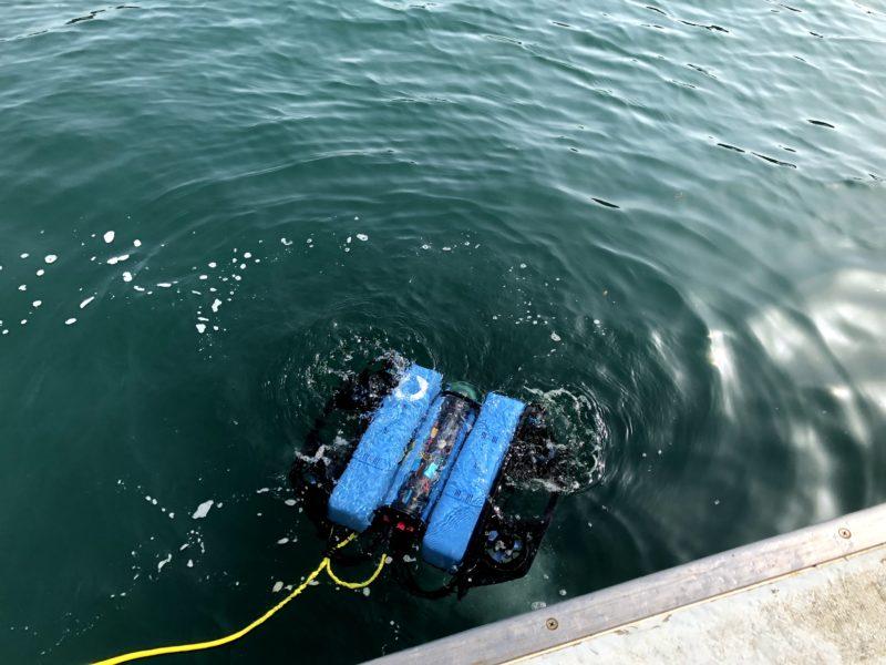 BlueROV2 Heavy  潜水前のテスト
