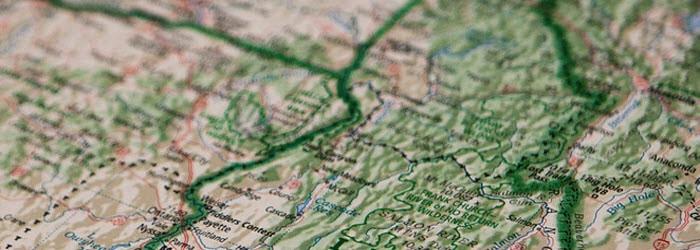 地形データを収集する
