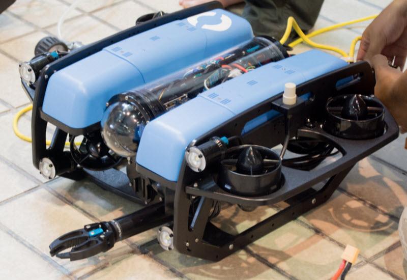 BlueROV2 ヘビー