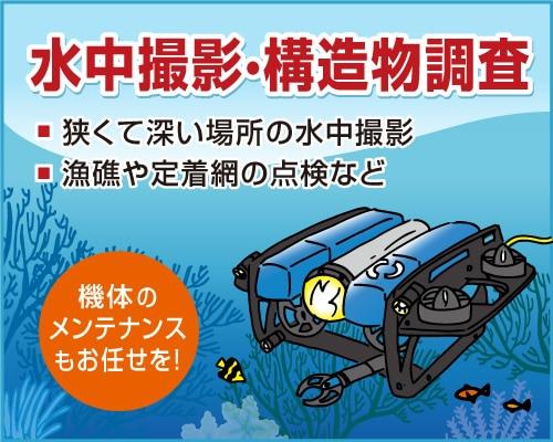 水中調査ROV