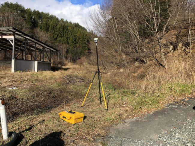 ドローン測量RTK