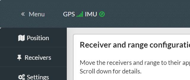 GPSとIMUを調整