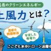 洋上風力とは?